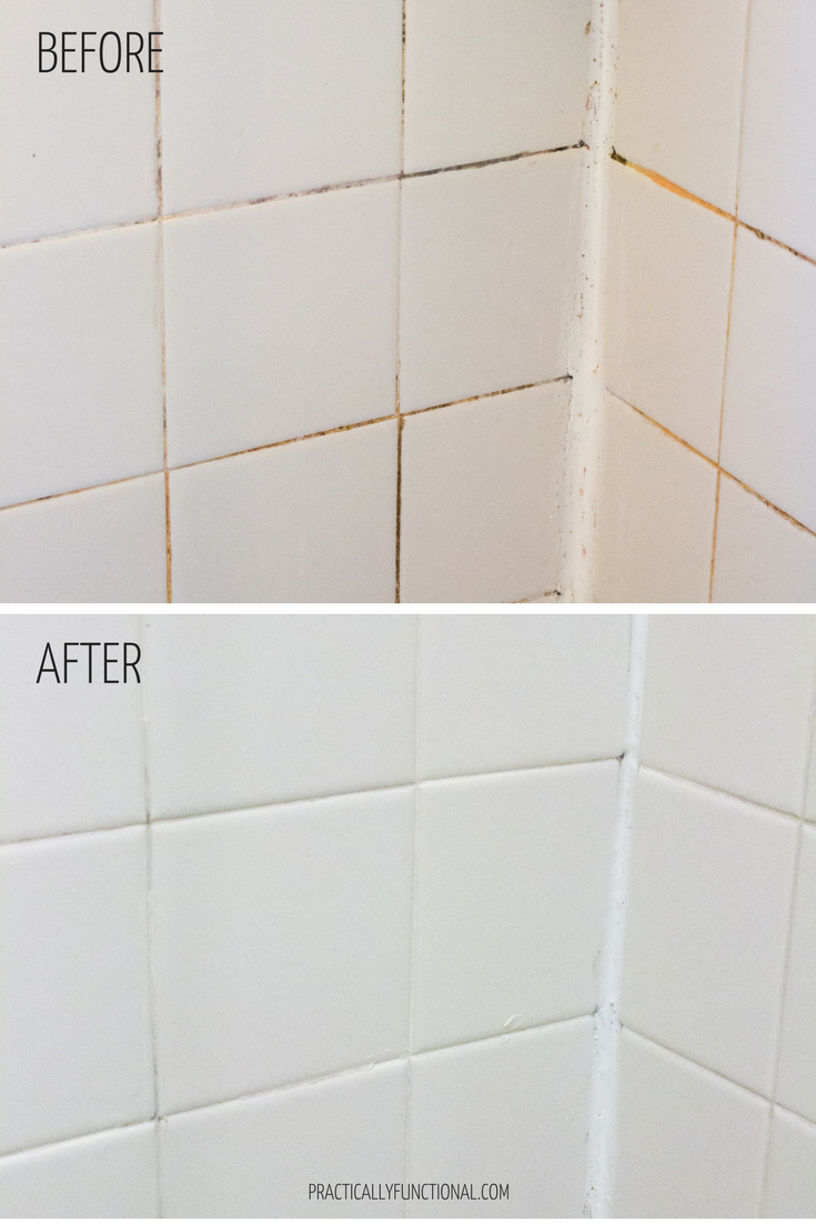 Clean Grout With This Homemade Cleaner Bleach And Baking Soda