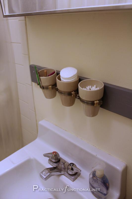 Organize Your Bathroom Diy Wall Mounted Storage