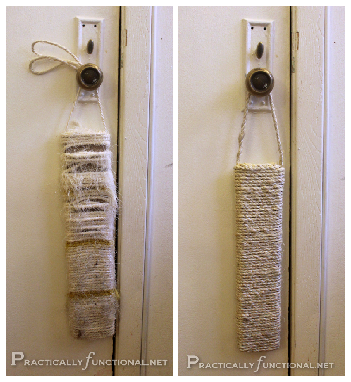 DIY Sisal Scratching Post {Caturday #6}