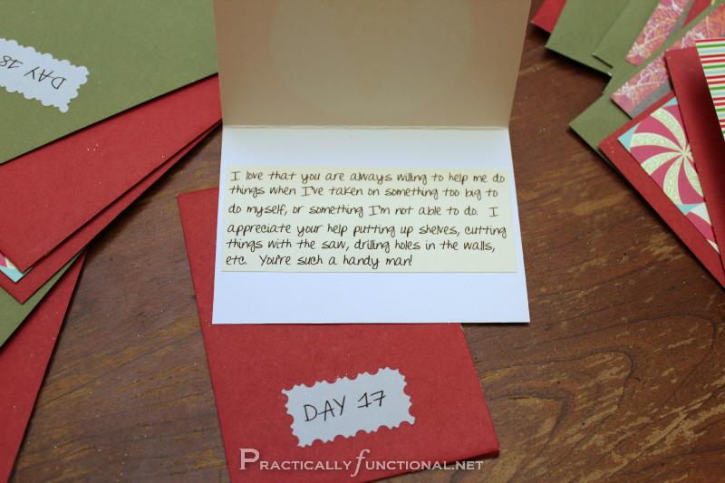 Calendar Ideas For Him : Diy christmas gift paper envelope advent calendar