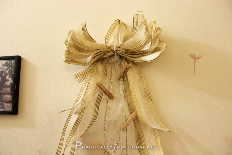 How To Make A Bunch Decor Out Of Ribbons