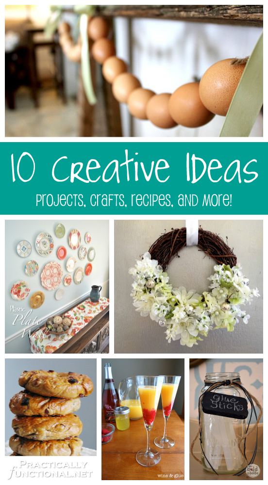 10 creative ideas projects crafts recipes and more
