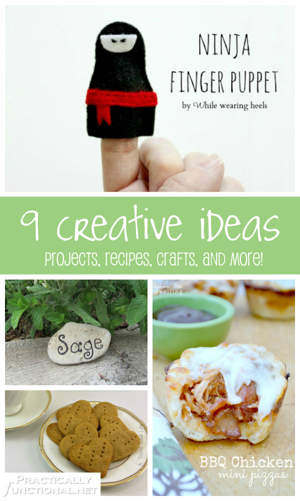 9 creative ideas to try yourself!