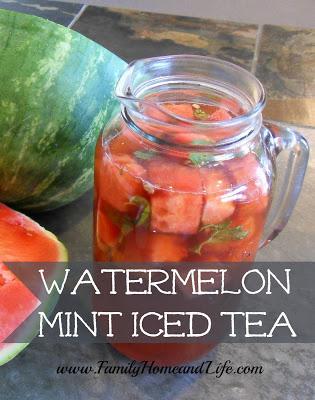 Watermelon Mint Iced Tea-2