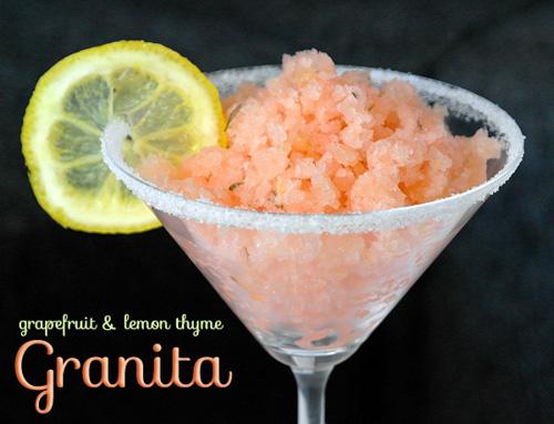 grapefruit lemon thyme granita-2