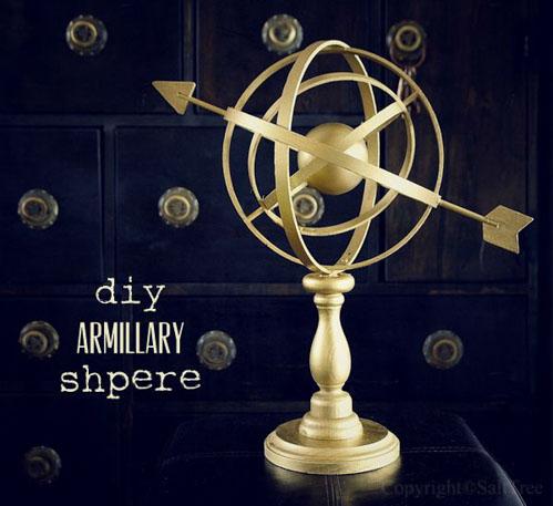 DIY Armillary Sphere from SaltTree