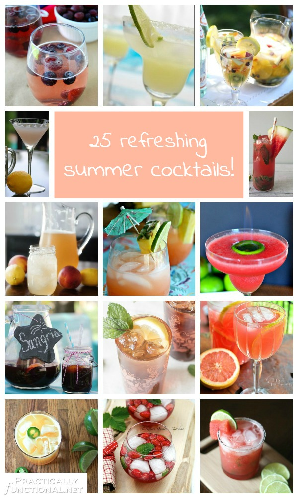 25 Refreshing Summer Cocktails