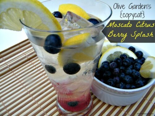 Olive Garden's {copycat} Moscato Citrus Berry Splash from Who Needs A Cape!