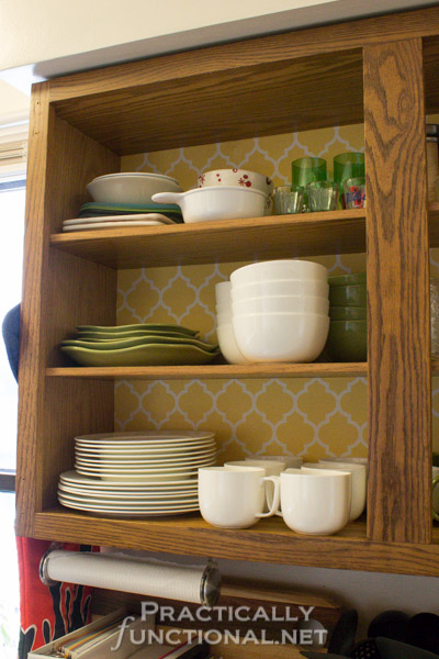 Rental Friendly Kitchen Update Wallpaper Your Cabinets