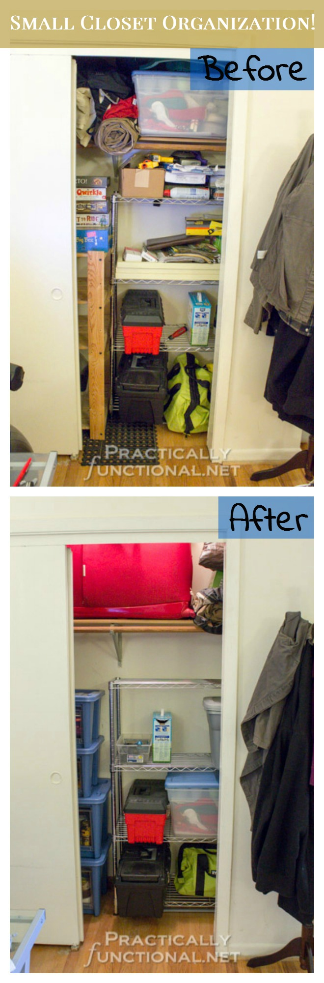 Small Apartment Solutions Closet Organization Practically Functional