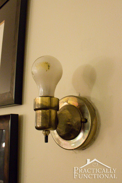How To Decorate A Rental: Update Your Light Fixtures!