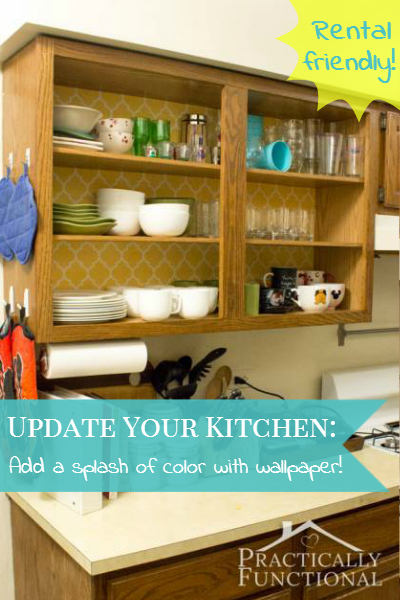 Update Your Rental Kitchen Without Making Permanent Changes