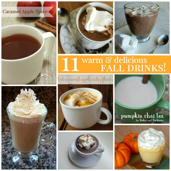 11 Warm & Delicious Fall Drink Recipes