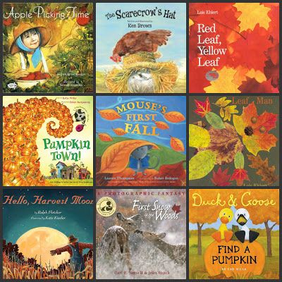 12 Fall Books To Read With Your Kids from Peace But Not Quiet