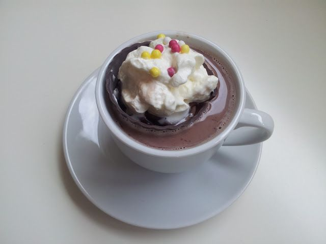 An Alternative Cup of Hot Cocoa from A Spoonful Of Crafts