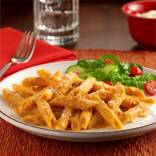 Creamy Pumpkin Pasta from Salt and Pepper Moms