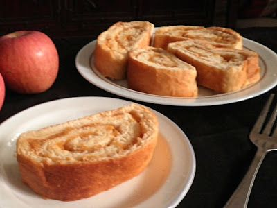 Homemade Apple Rolls from Treat & Trick