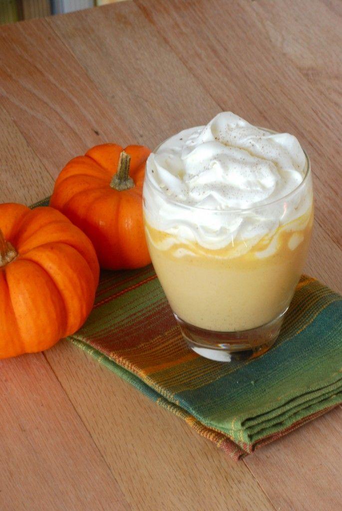 Pumpkin Pie White Hot Chocolate from Macaroni And Cheesecake