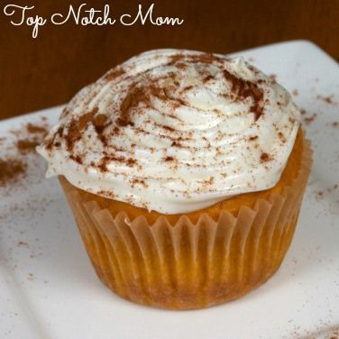 Easy Pumpkin Cupcakes from Top Notch Mom