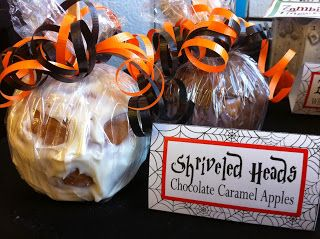 Shriveled Head Chocolate Covered Caramel Apple from Kim's Kandy Kreations