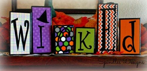 Wicked Blocks from Spindles Designs