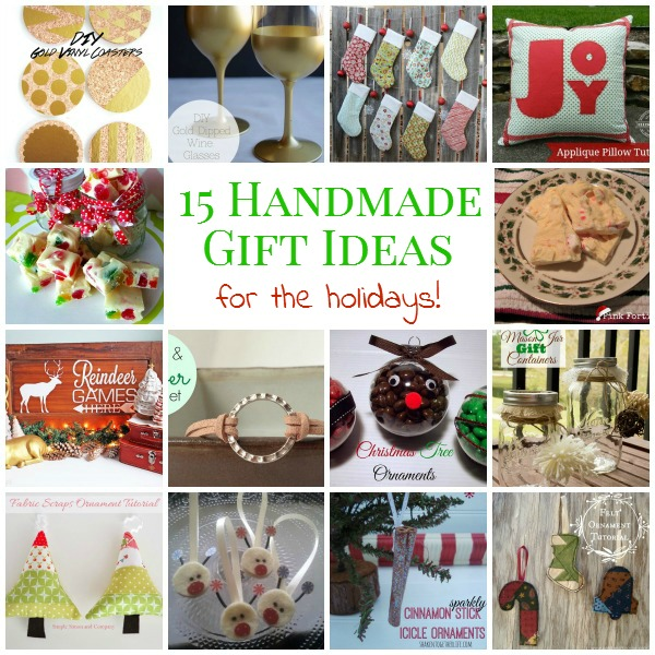 15 handmade gift ideas for Christmas present homemade gift ideas