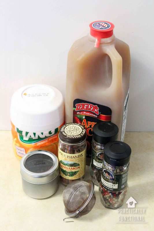 Citrusy & tangy homemade wassail recipe