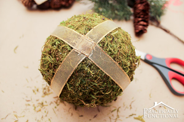 DIY Christmas Kissing Ball