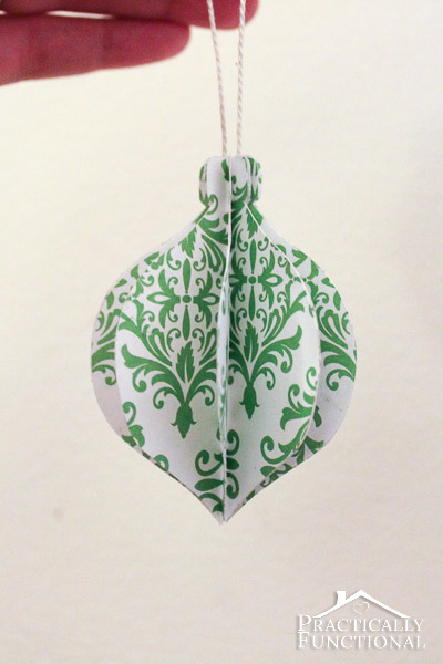 DIY Folded Paper Christmas Ornaments A Quick And Easy Craft That Only Requires
