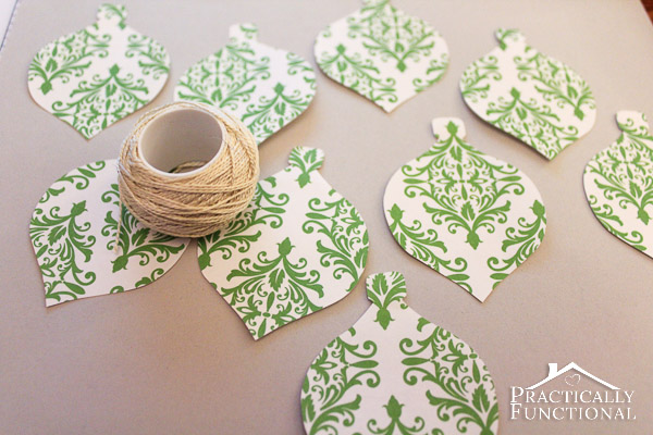 diy folded paper christmas ornaments