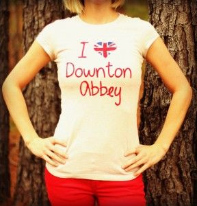 DIY Downton Abbey T-shirt from Down Home Inspiration