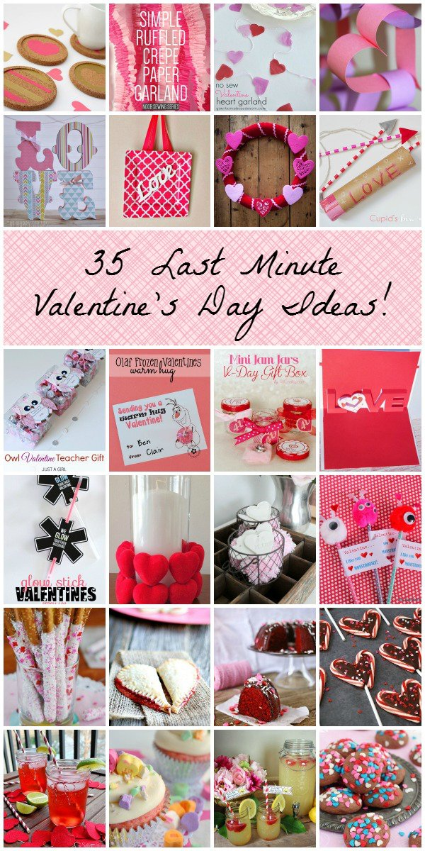 35 last minute valentine's day ideas!, Ideas