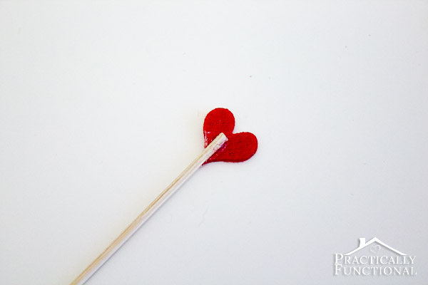 DIY Valentine's Day Swizzle Sticks: Class up any drink in under two minutes with homemade swizzle sticks!