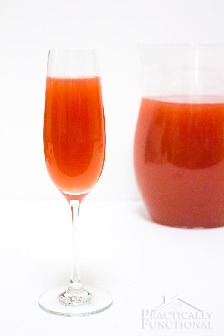 Make this classic Valentine's Day punch in under five minutes! Three variations to try!