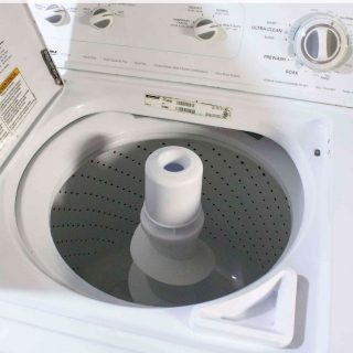 how to wash a washing machine with vinegar