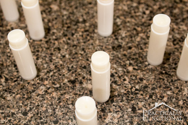 How to make homemade, all natural chapstick!