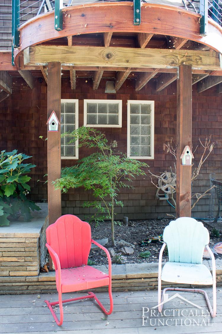 & Simple Backyard Decorating Ideas: Paint A Birdhouse!