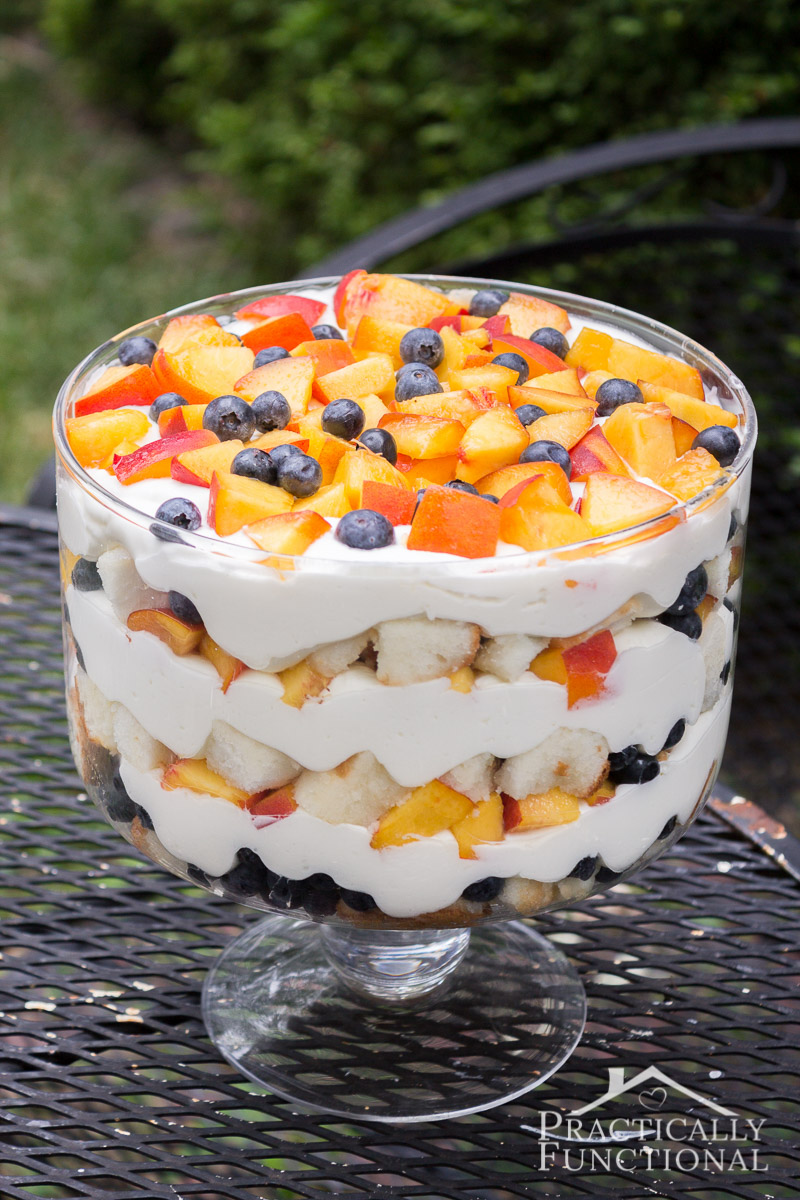 Make Trifle From Sctrach Including Cake And Jam