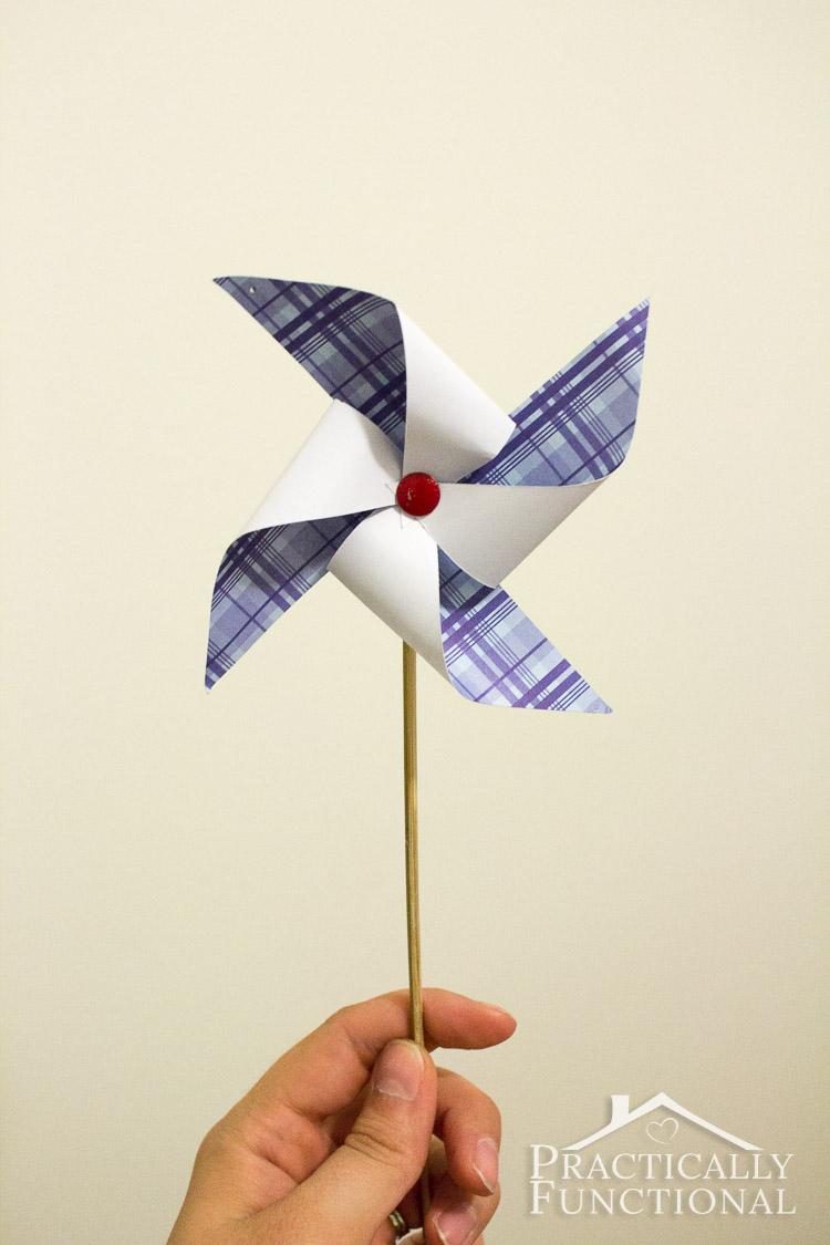 How To Make A Pinwheel Free Template