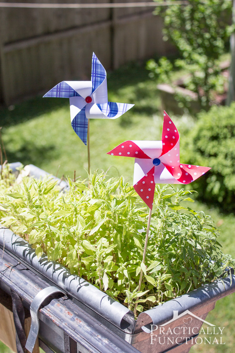 How To Make A Pinwheel: Step by step instructions for making pinwheels in any color, plus a free printable template and cut file!