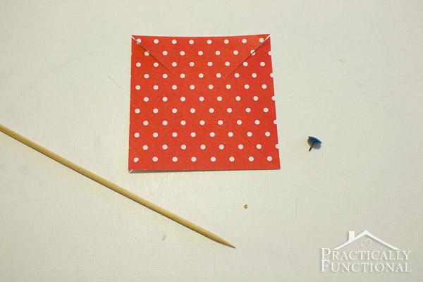How To Make A Pinwheel-5