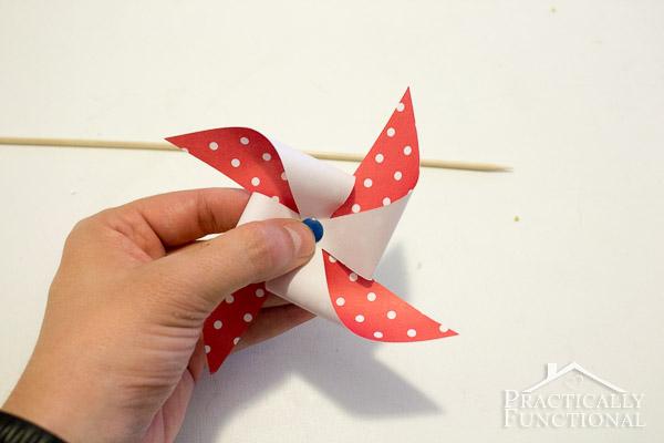 How To Make A Pinwheel-7