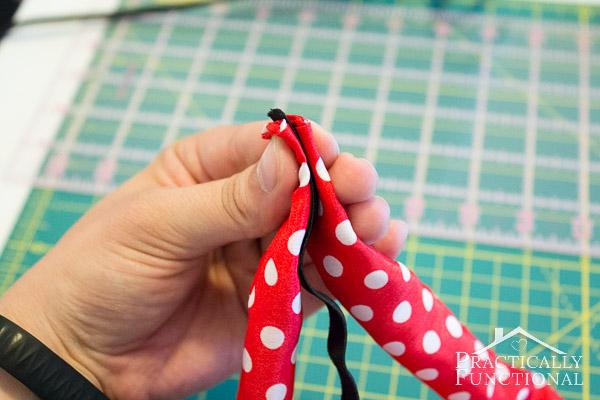 How to make a turban headband-5
