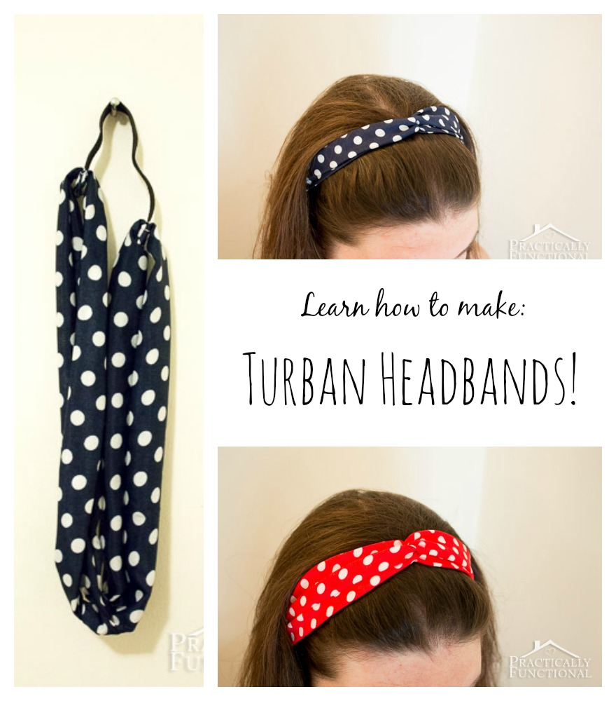 How to make a turban headband these turban headbands are super cute and they have elastic so they stretch to fit baditri Images