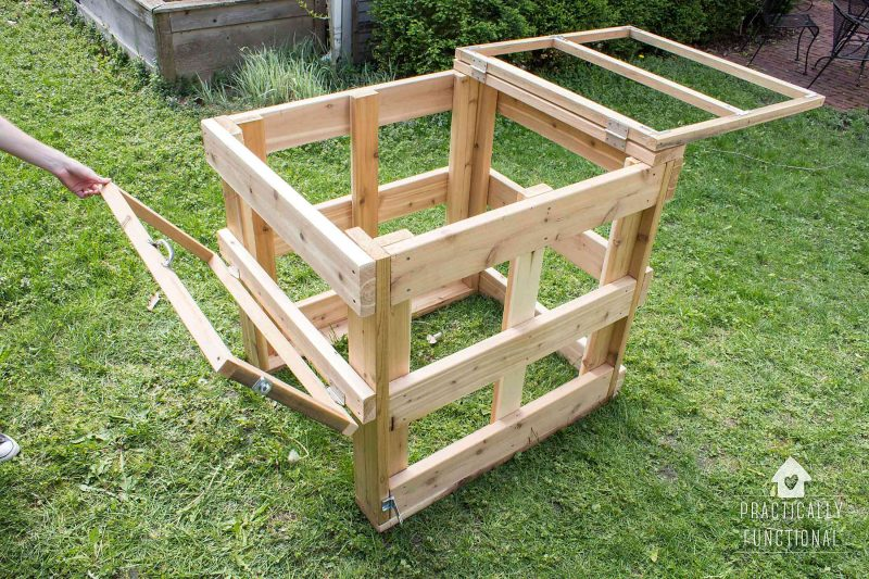 How to build a DIY compost bin plus free plans and cut list