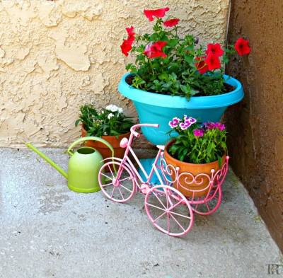 Spray Painted Planter from Its Always Ruetten
