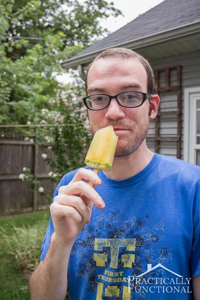 Basil Mint Citrus Mojito Popsicles-5