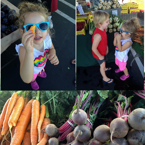 Farmers market with EatDrinkEat.com blog