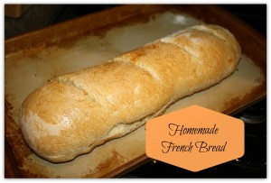 Homemade French Bread from Balm to My Soul