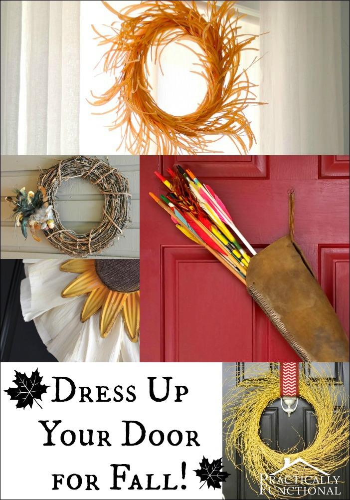 Dress up your door for fall!
